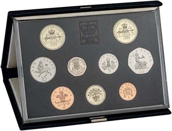 Picture of Англия, Великобритания, Годовой набор из 9 монет 1989 года. Proof