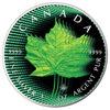"Picture of Серебряная цветная монета ""Кленовый лист "" Канада 2018"
