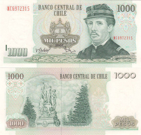 Picture of Чилі 1000 песо 2007