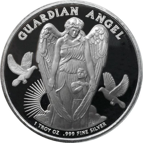 "Picture of Срібна монета ""Ангел-охоронець"" 31,1 грам Ніуе 2017"