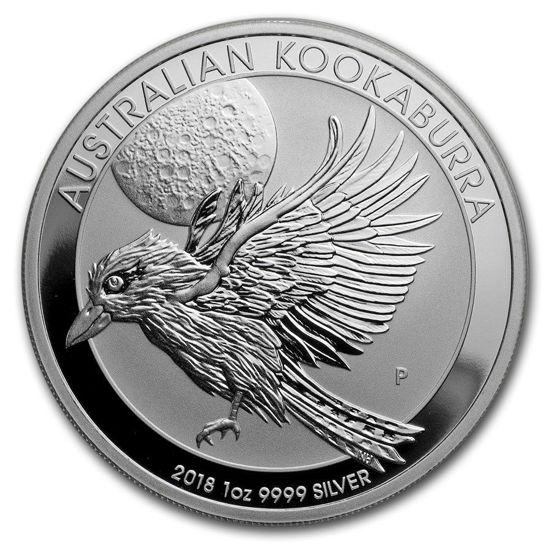"Picture of Срібна монета ""Австралійська Кукабарра"" 31.1 грам 2018"