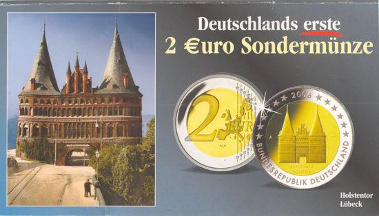 Picture of Германия 2 евро 2006, Федеральные земли Германии: Шлезвиг-Гольштейн (в блистере)