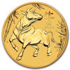 "Picture of Золотая монета Австралии ""Lunar III - Год Быка"" 3,11 грамм 2021 г."