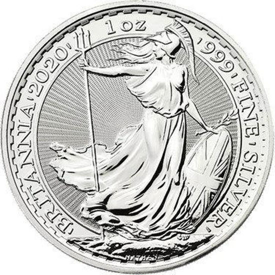 Picture of Великобритания 1 унция Серебро Британия  2020 Britannia ( 1oz )