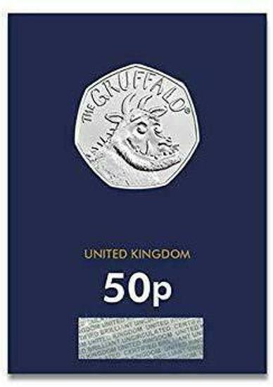 Picture of Англия, Великобритания 50 пенсов 2019.  Груффало (І тип). Блистер, BU