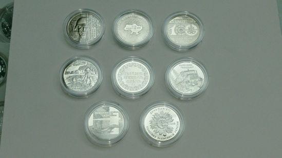 Picture of Пам'ятні монети України 8шт. АКЦІЯ !! РОЗПРОДАЖ!