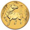 "Picture of Набор из 5-ти золотых монет ""Lunar III - Год Быка"" 2021 Австралии"