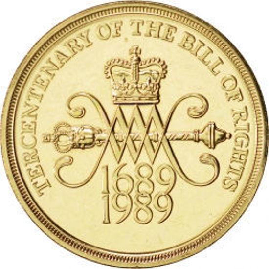 Picture of Англия, Великобритания 2 фунта 1989. 300 лет Билля о правах. BU