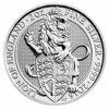 """Picture of Акція!!!Серія Звірі Королеви Срібло """"Англійська лев"""" 62.2 грам, I / X The Lion of Englan, Великобританія 2016"""