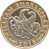 Picture of Англия, Великобритания 2 фунта 2016. Творчество Шекспира: Комедия