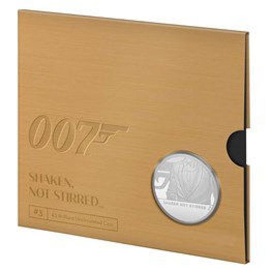 Picture of Англия, Великобритания, 5 фунтов 2020 Джеймс Бонд Агент 007.  Смокинг Джеймса Бонда (в буклете). ІІІ тип