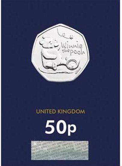 Picture of Англія, Великобританія 50 пенсів 2020. Вінні Пух. Блістер, BU. І тип