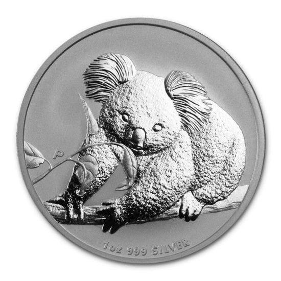 "Picture of Срібна монета ""Коала"" Австралія 2010 31.1 грам"