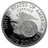 "Picture of Серебряная монета ""Liberty - Роберт Ф. Кеннеди"" 1 доллар США 1998"