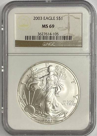 Picture of Американський Срібний Орел Liberty 31,1 грамм 2003 р.