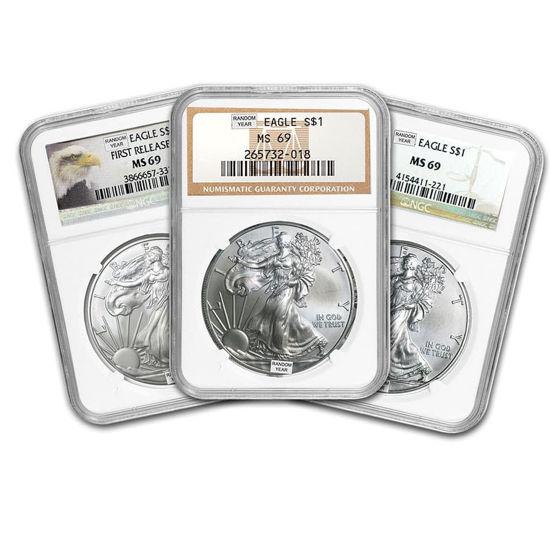 Picture of Американський Срібний Орел Liberty 31,1 грамм рандомний рік
