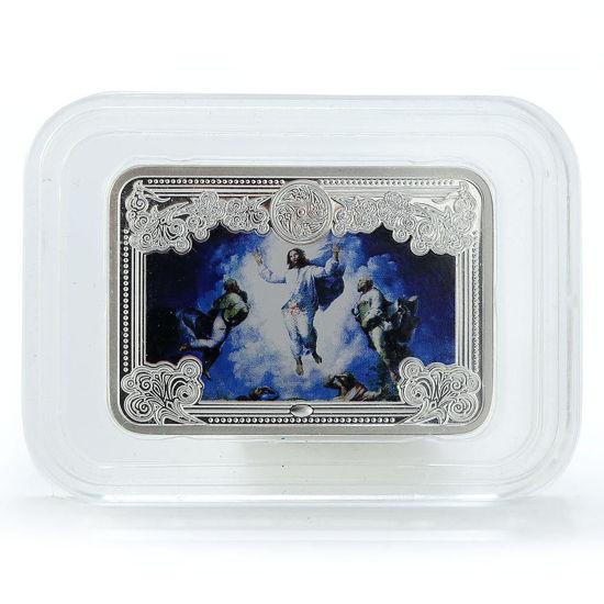 "Picture of Серебряная монета ""Чудеса Иисуса Христа - Вознесение"" 14,4 г Андорра 2013"