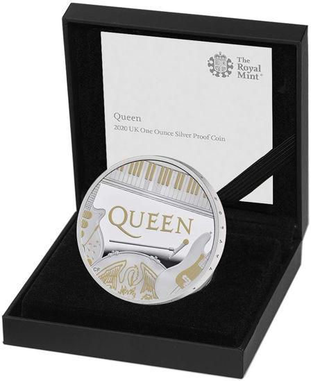 Picture of Англия, Великобритания 2 фунта 2020. «Queen» - британская рок-группа. Серебро 31,1 гр