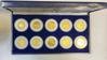 """Picture of Набір """"Історична колекція США"""" з десяти монет чверті долара з 24-каратною позолотою 2001 р.-2002 р.  монетний двір Морган"""