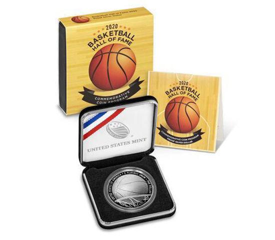 """Picture of Срібна монета """"Liberty - Зал баскетбольної слави 2020"""" 26.73 грама"""