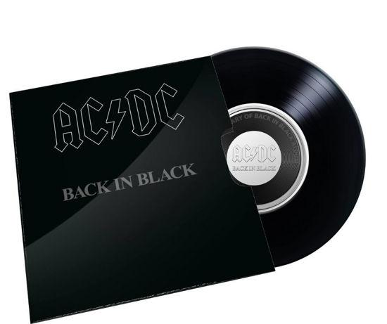 """Picture of Австралія 20 центів 2020 року, Легендарна рок-група AC DC: Альбом """"Back in Black"""""""