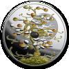 """Picture of Срібна монета """"Дерево удачі"""" 31,1 грам Ніуе 2019"""