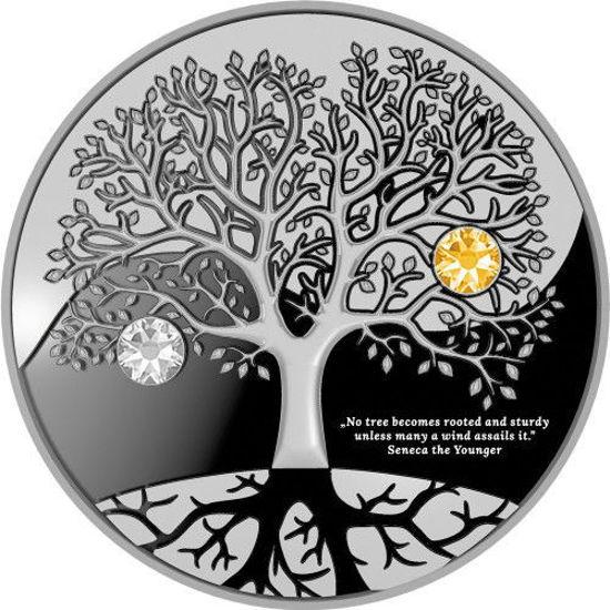 "Picture of Серебряная монета ""Дерево жизни"" 10 грамм Камерун 2019"