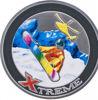 "Picture of Серебряная монета ""Экстрим Сноубординг"" 28,28г Андорра 2007"