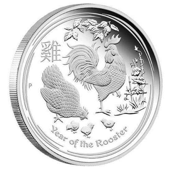 "Picture of Серебряная монета ""Год Петуха"" Proof Австралия. 15,5 грамм"