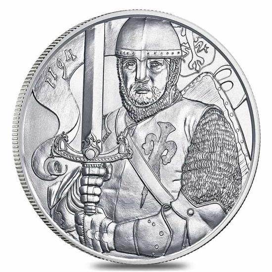 "Picture of  Срібна монета ""Леопольд V"" 31.1 грам Австрія 2019"