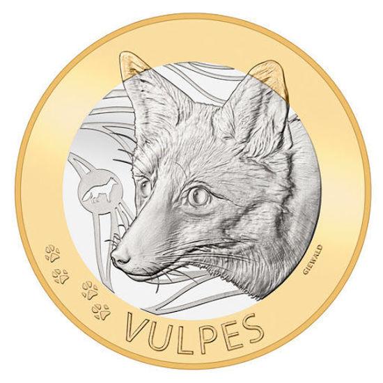 """Picture of Швейцарія 10 франків 2021, Руда лисиця, серія """"Швейцарські лісові тварини"""""""