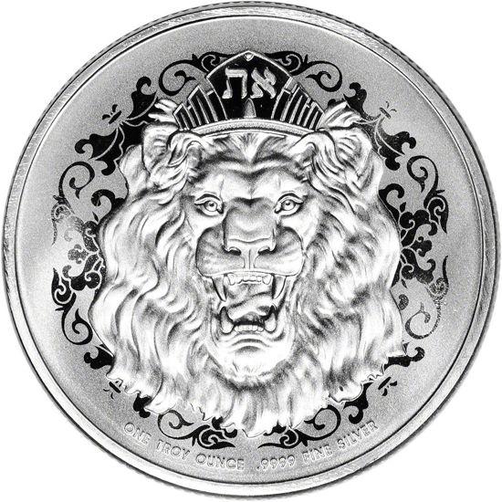 "Picture of Срібна монета ""Ревучий лев"" Ніуе 31,1 грам 2021"