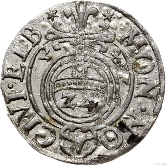 Picture of Монета Полторак 3 polker Польща 1633 року срібло