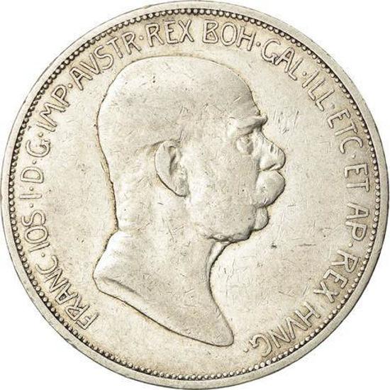 Picture of Срібних 5 Австрійських крон 1909 Франц Йосиф I
