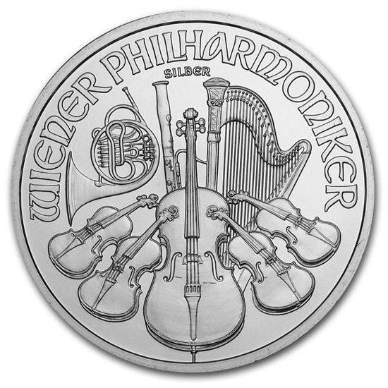 Picture of Срібна монета «Філармонія» 31,1 грам 2021 р. Австралія