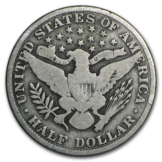 Picture of Срібна монета США Barber Halves