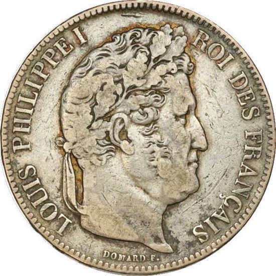 Picture of 5 франков 1831 — 1848  Луи-Филипп I  Франция