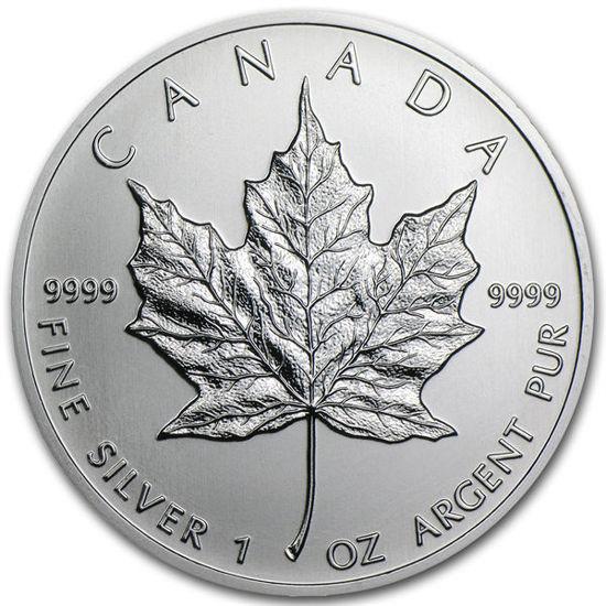 Picture of «Канадский кленовый лист» 31.1 грамм 2021 г.