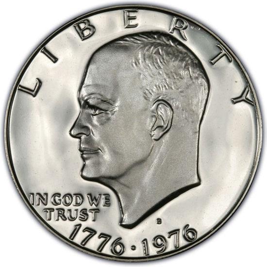 "Picture of Инвестиционная монета ""Liberty - Эйзенхауэр"" 1 доллар США 1976г"