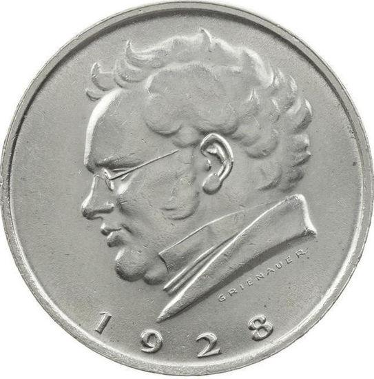 Picture of Срібна монета 2 шилінга 1928 Австрія