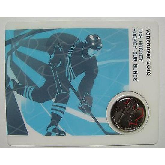 """Picture of Канада 25 центів 2007 """"Хокей на льоду, серія"""" Ванкувер 2010"""""""