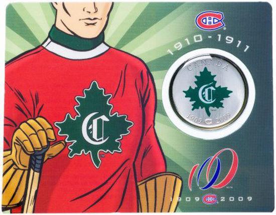 Picture of Канада 50 центов 2009, 100 лет Монреаль Канадиенс 1910-1911. В блистере