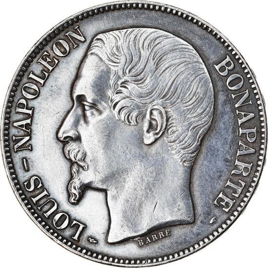 Picture of 5 франков 1852 г  Наполеон III, Франция