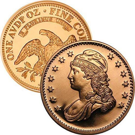 Picture of Медальйон (токен, монета) 1 унція чистої міді 0.999
