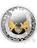 """Picture of Серебряная монета """"Любовь и счастье"""" 2021, Ниуе 17,5 грамм"""
