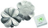"Picture of Серебряная  3D монета в форме четырёхлистника клевера ""Фортуна"" 31,1 грамм 2018 г. На удачу"