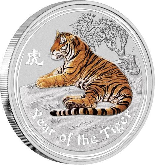 "Picture of Срібна монета Lunar II ""Рік Тигра"" 1 кг.  2010 р."