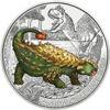 """Picture of Австрія 3 євро 2020. Анкилозавр. Серія """"Супер Динозаври"""". UNC"""
