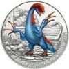 """Picture of Австрія 3 євро 2021. Терізінозавр. Серія """"Супер Динозаври"""". UNC"""