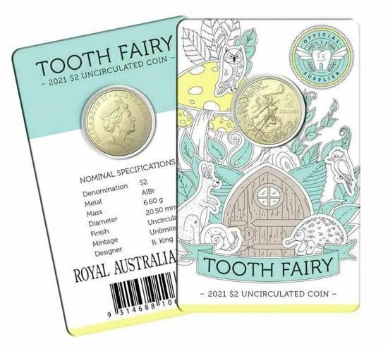 Picture of Австралія 2 долари 2021, Зубна фея. У блістері